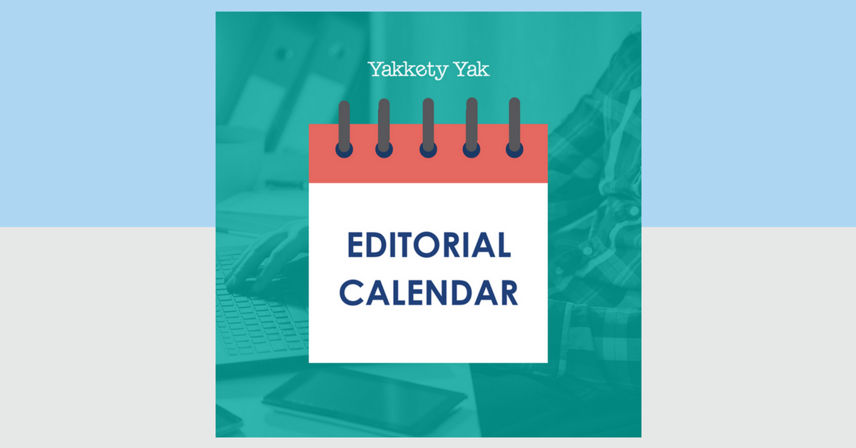 The Indispensable Editorial Calendar