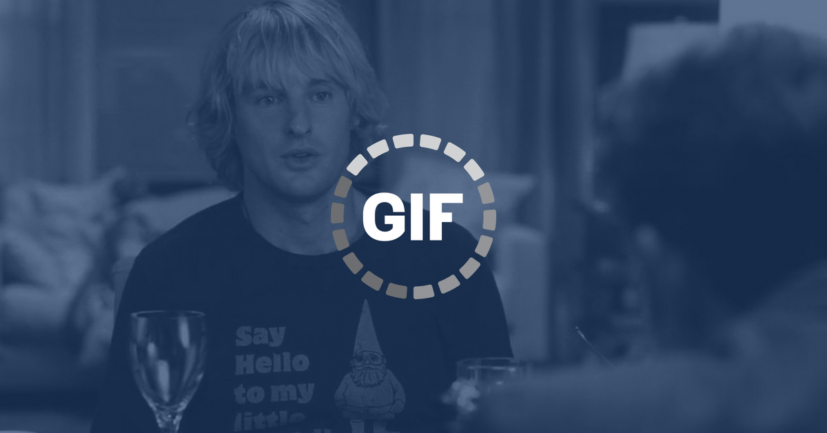 GIF icon over Owen Wilson