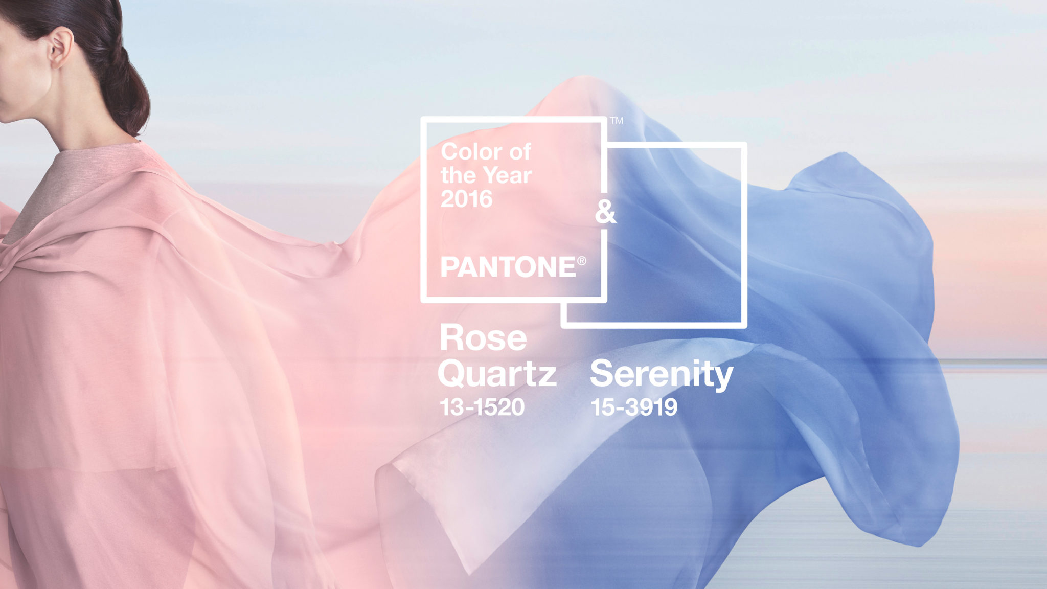 2016 Pantone Rose Quartz and Serenity