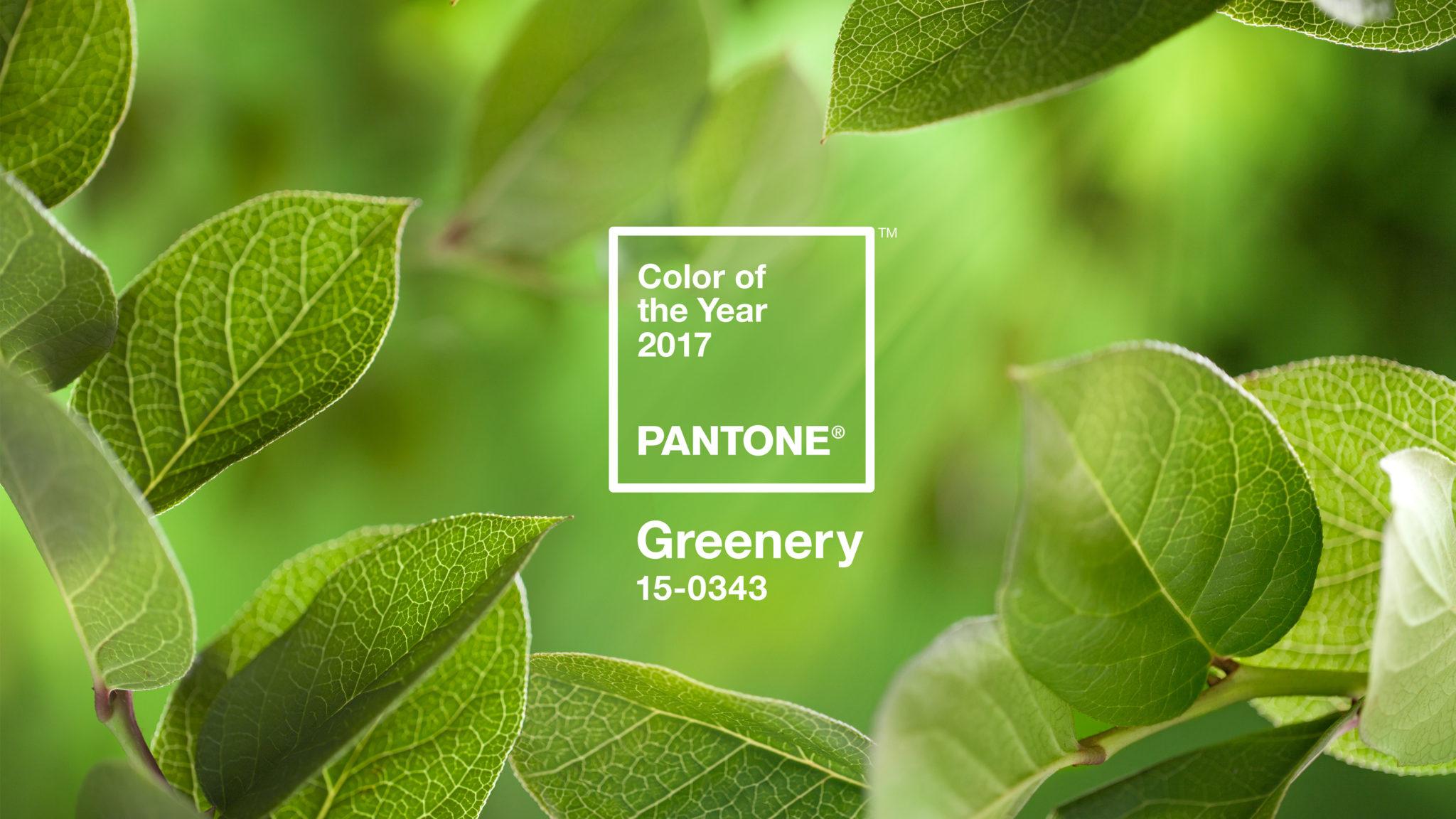 2017 Pantone Greenery