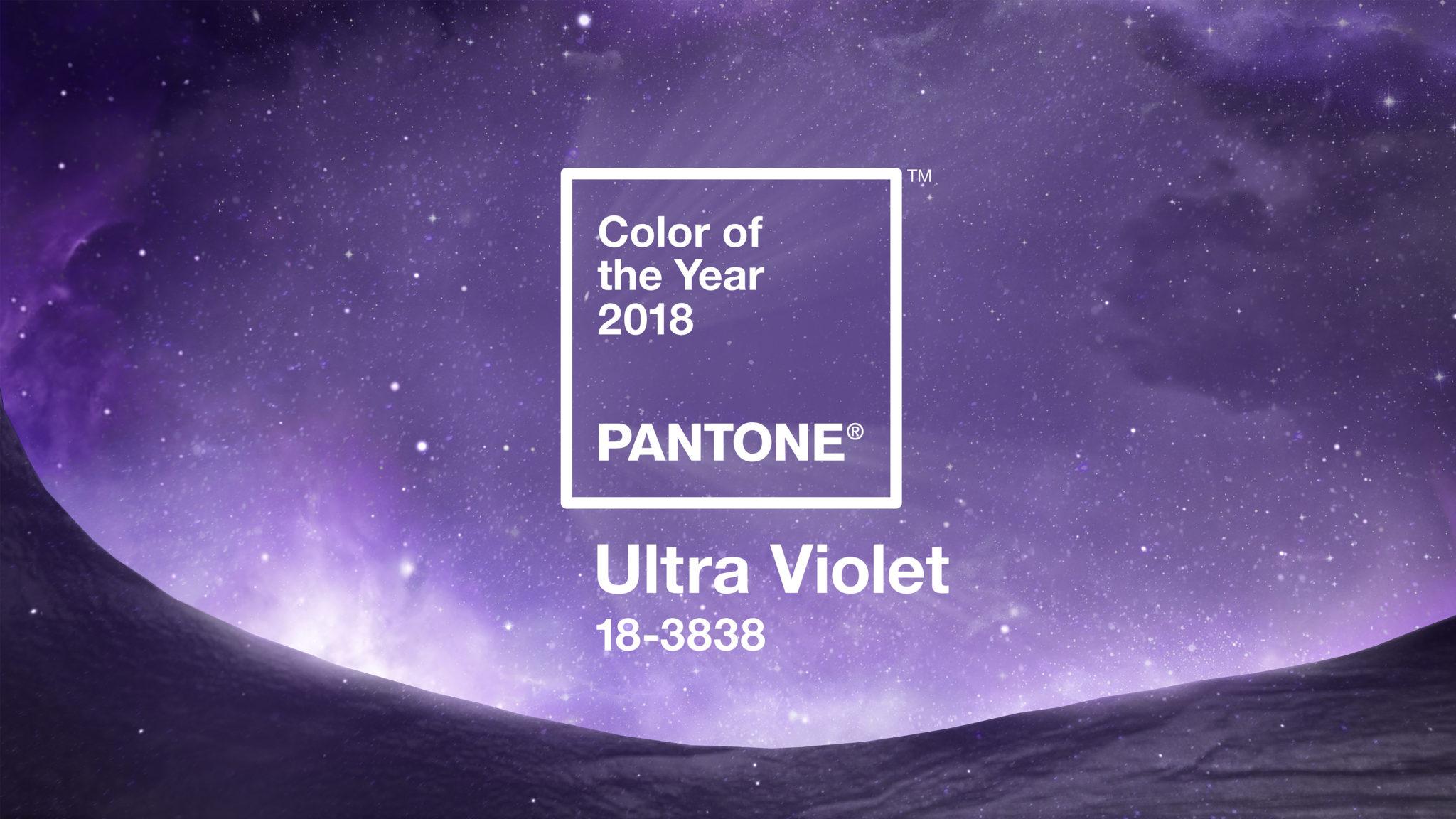 2018 Pantone Ultra Violet