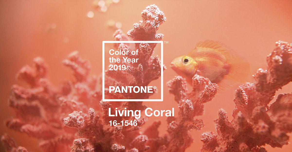 2019 color of the year - living coral