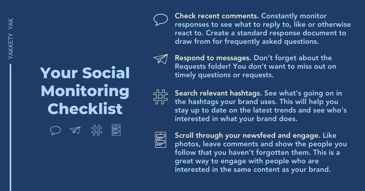 Social Listening Tips
