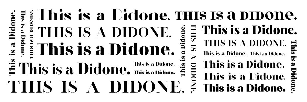 Didone Fonts