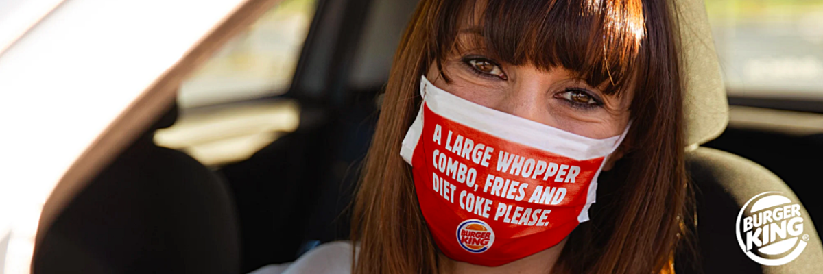 Burger King Mask Campaign