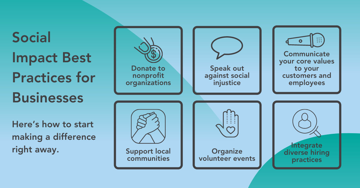 Social Impact Best Practices for Businesses