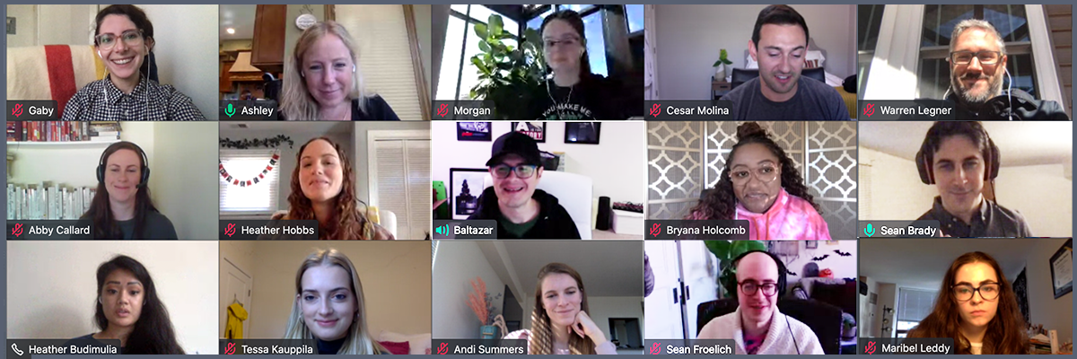 October 2020: Team Video Call Header