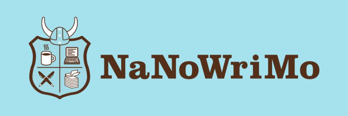 NaNoWriMo Logo and Header