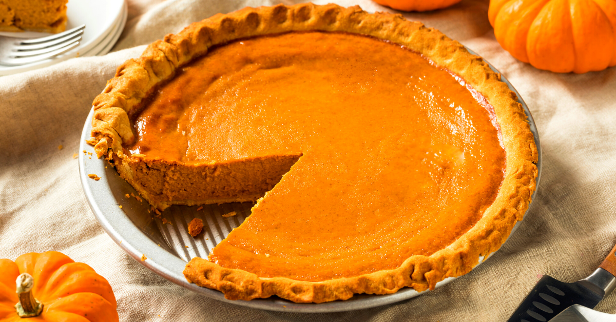 What to Be Thankful For This Year: Photo of pumpkin pie
