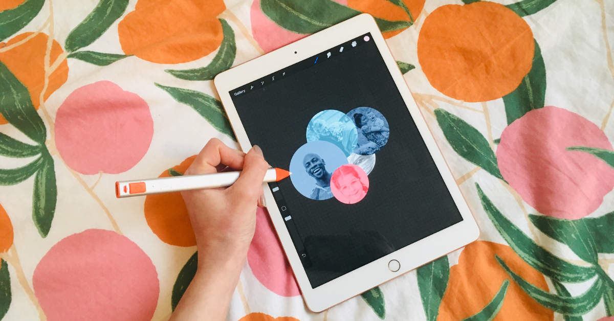Creativity in the Workplace: Design work on iPad