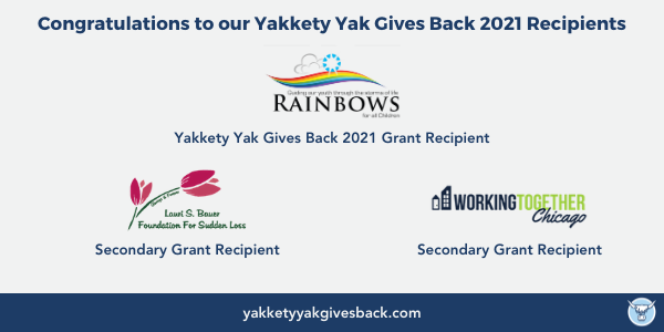 Yakkety Yak Gives Back 2021 Winners