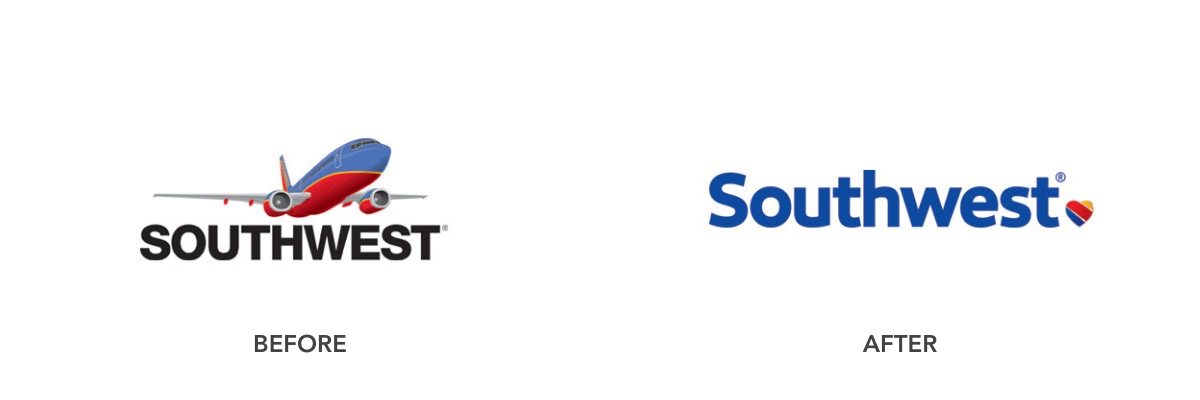 Brand Refresh Example: Southwest